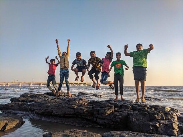 Fresh Air Fund-Kids at beach